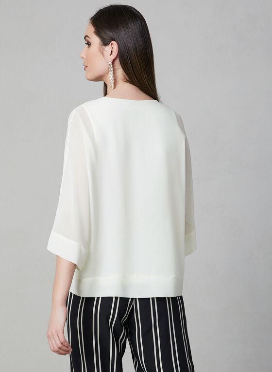 Blouse à manches kimono, Blanc cassé, hi-res