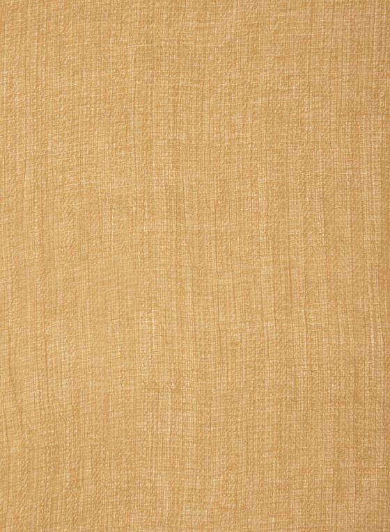 Textured Tassel Scarf, Yellow, hi-res