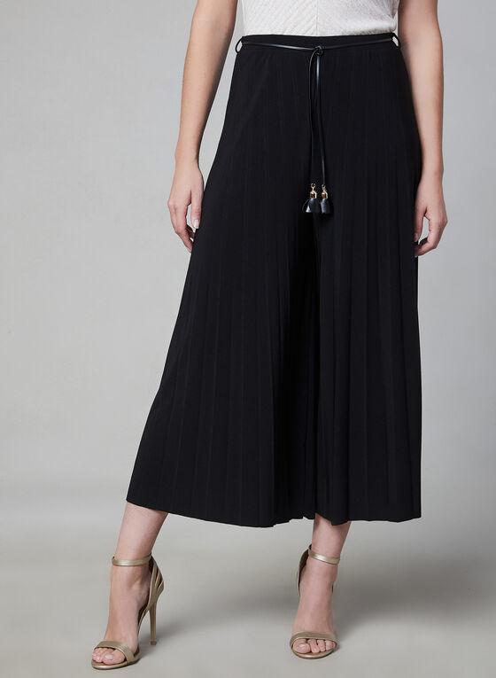 Frank Lyman - Jupe-culotte plissée, Noir, hi-res