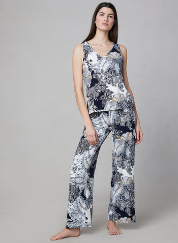 Hamilton - 2-Piece Pyjama Set, Blue, hi-res