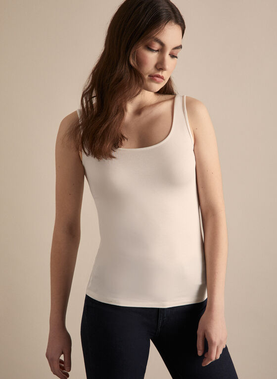 Basic Tank Top, Off White