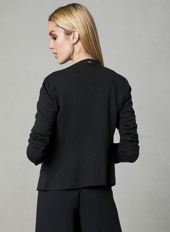 Vex - Veste à détails zippés, Noir, hi-res