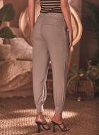 Pantalon à enfiler style jogger, Gris