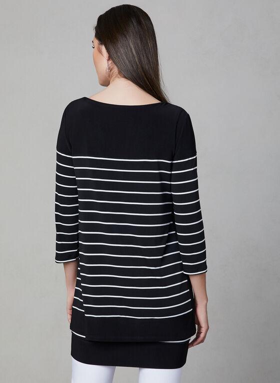 Frank Lyman - Jersey Popover Dress, Black, hi-res