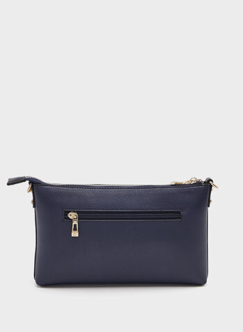 Céline Dion - Faux-Leather Clutch, Blue, hi-res