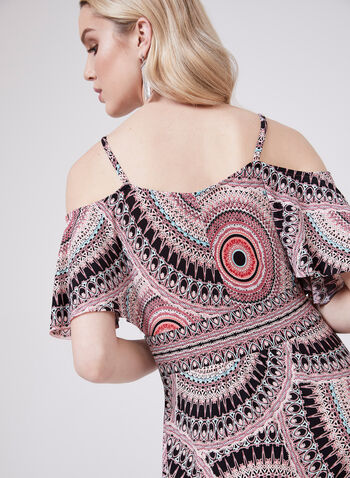 Maggy London - Aztec Print Maxi Dress, Multi, hi-res