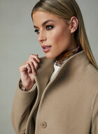 Mallia - Cashmere Blend Coat, Brown, hi-res