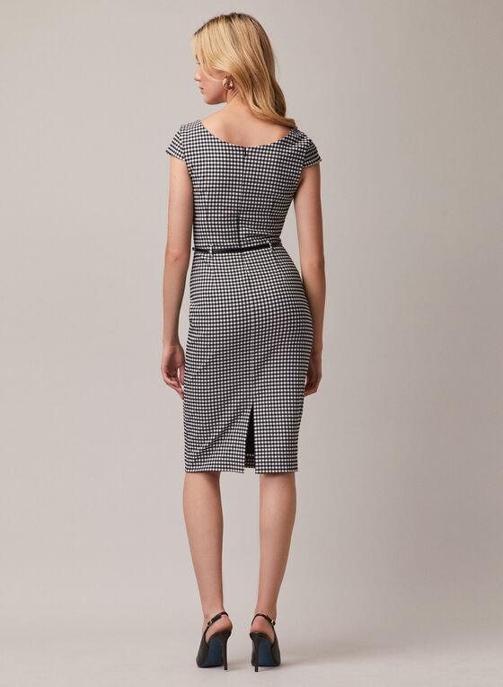 Joseph Ribkoff - Tartan Print Dress, Black