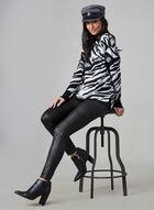 Legging Kayla en faux cuir, Noir, hi-res