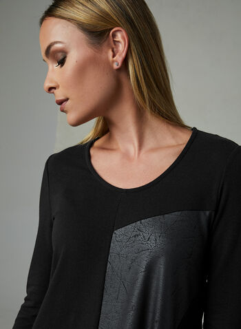 Compli K - Asymmetrical Top, Black, hi-res