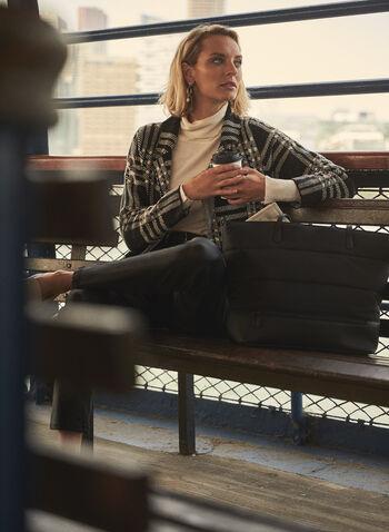 Slim Leg Coated Jeans, Black,  fall 2021, denim, coated denim, jeans, coated jeans, slim leg, high rise, high-waisted, 5 pocket, belt loops, leather-like, vegan leather, faux leather, stretch, coated, coating