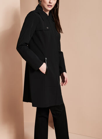 Nuage - Single-Breasted Trench Coat, , hi-res