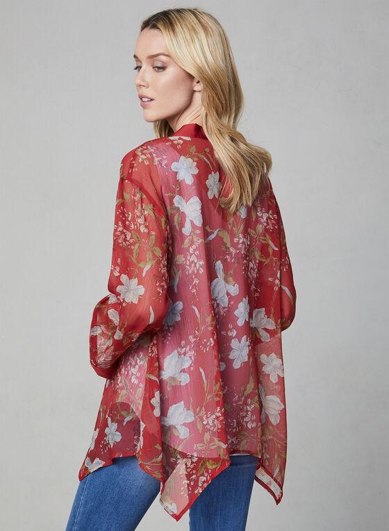Vince Camuto - Chiffon Kimono, Red