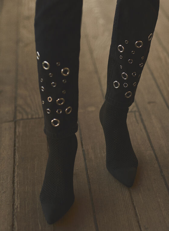 Joseph Ribkoff - Slim Leg Jeans, Black