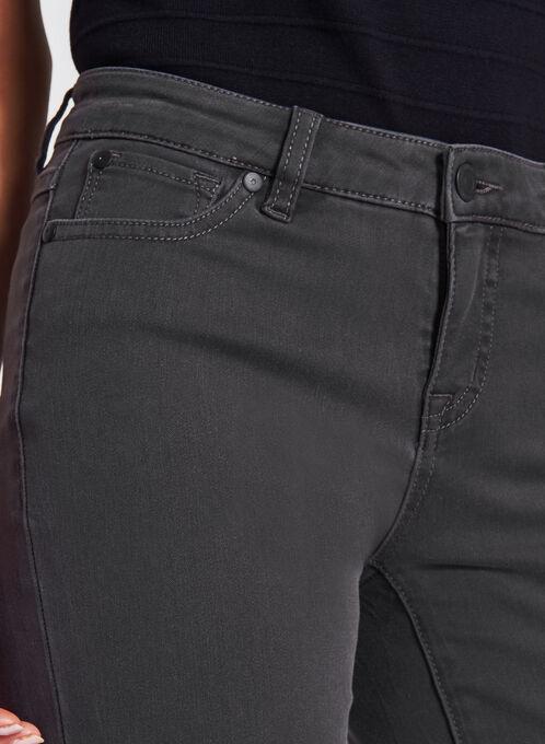 Jean Superdoux effet ventre plat à jambes étroites, Gris, hi-res