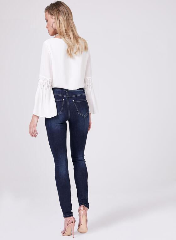 Super Soft Slim 7/8 Jeans, Blue, hi-res