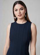 Julia Jordan - Robe en crêpe à panneaux, Bleu, hi-res