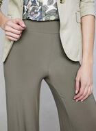 Pantalon jambe large à taille pull-on, Brun, hi-res