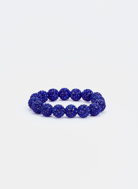 Fireball Stretch Bracelet , Blue