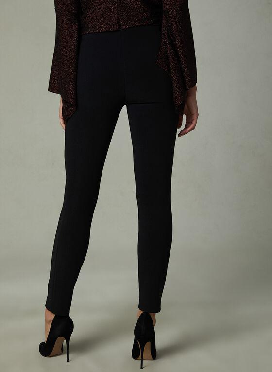 Legging en tricot fin, Noir, hi-res