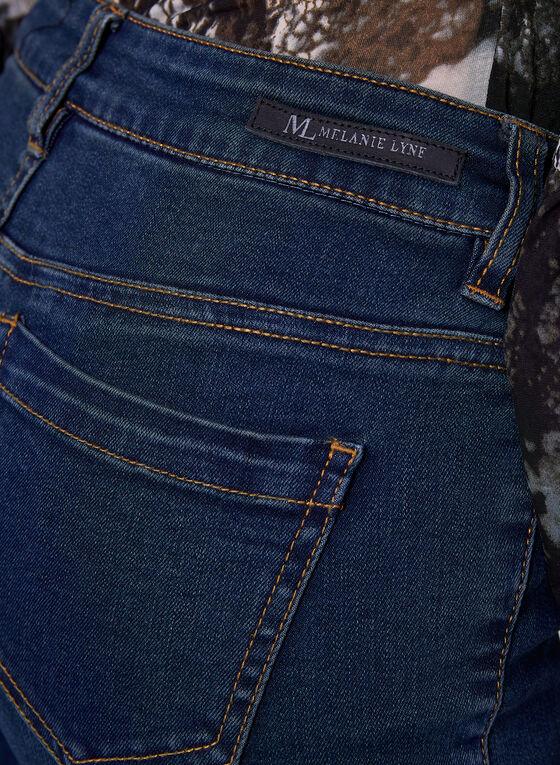 Sculpting Slim Leg Jeans, Blue, hi-res