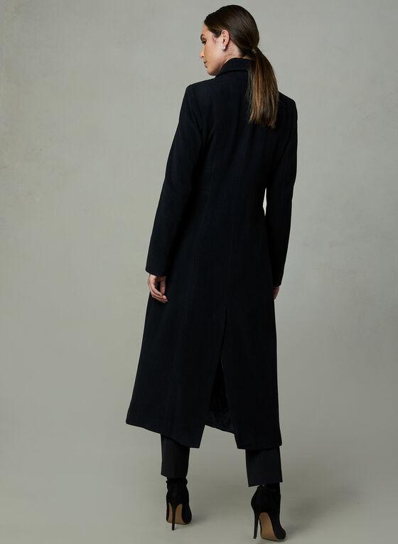 Anne Klein - Manteau long en cachemire mélangé  , Noir