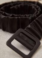 Pleated Belt, Black