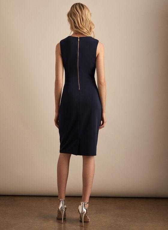 Frank Lyman - Floral Print Sheath Dress, Black