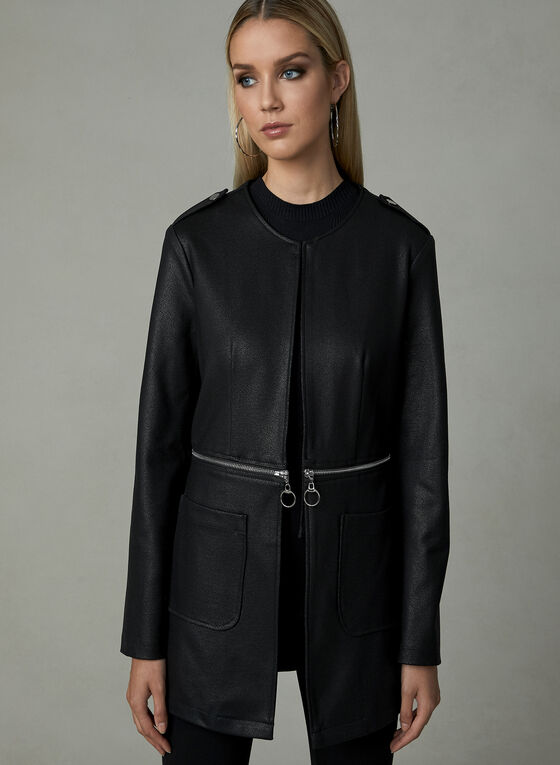 Frank Lyman - Convertible Jacket, Black, hi-res