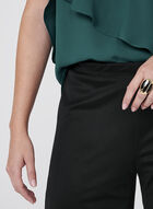Frank Lyman - Pantalon jambe large et maille filet, Noir, hi-res