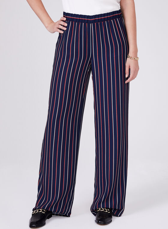 Conrad C - Wide Leg Pants, Blue, hi-res