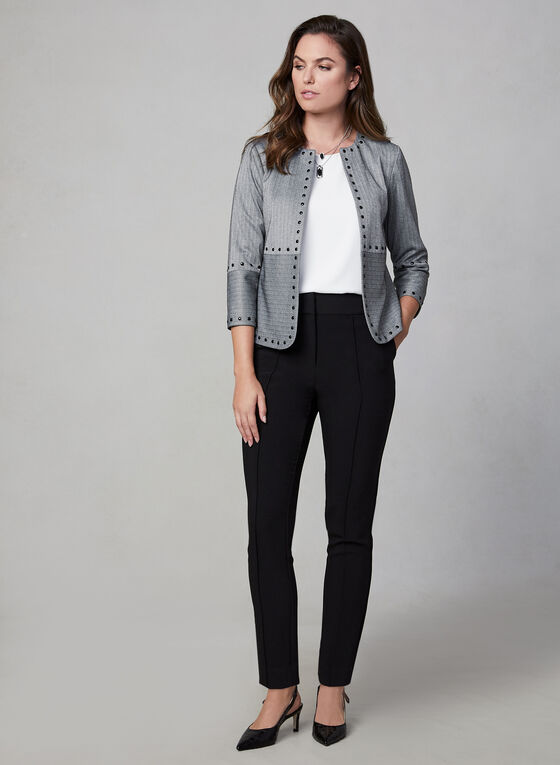 Vince Camuto - Chevron Jacket, Grey