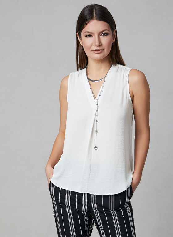 Vince Camuto - Sleeveless Blouse, Off White, hi-res