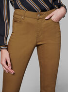 Coloured Slim Leg Jeans, Gold