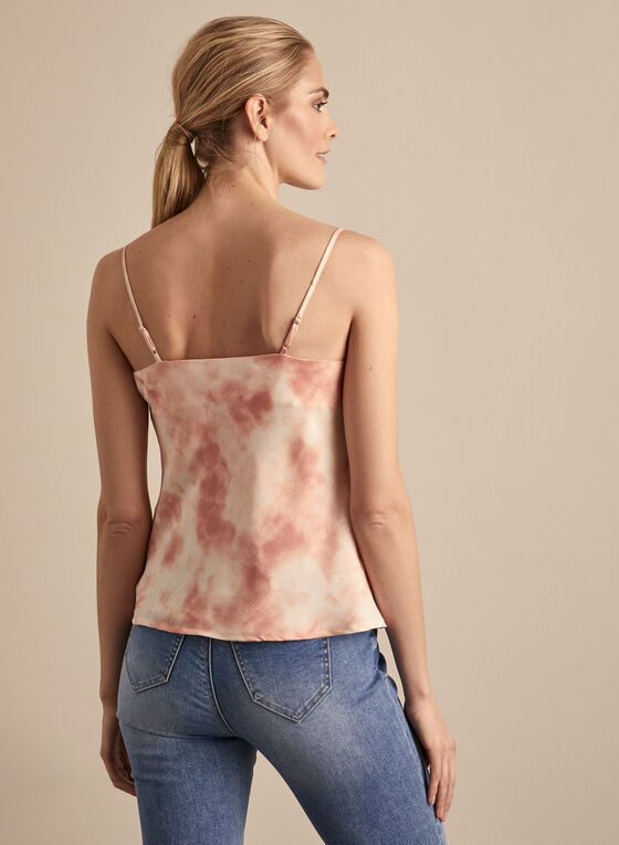Vince Camuto - Marble Effect Sleeveless Blouse, Multi