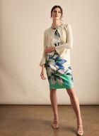Alison Sheri - Rhinestone Detail Bolero, Off White
