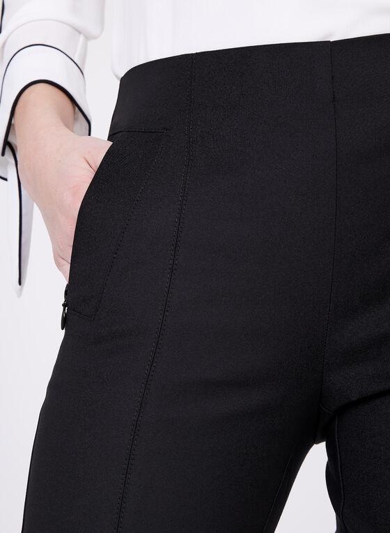 Pantalon Amber longueur cheville, Noir