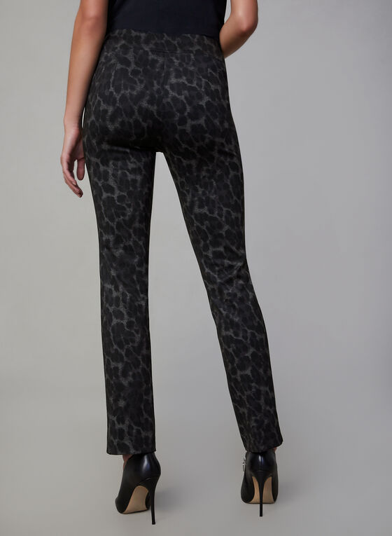 Madison Slim Leg Pants, Black