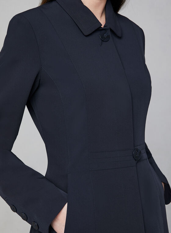Novelti - Fit & Flare Coat, Blue