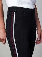 Pantalon à bandes contrastantes, Noir, hi-res