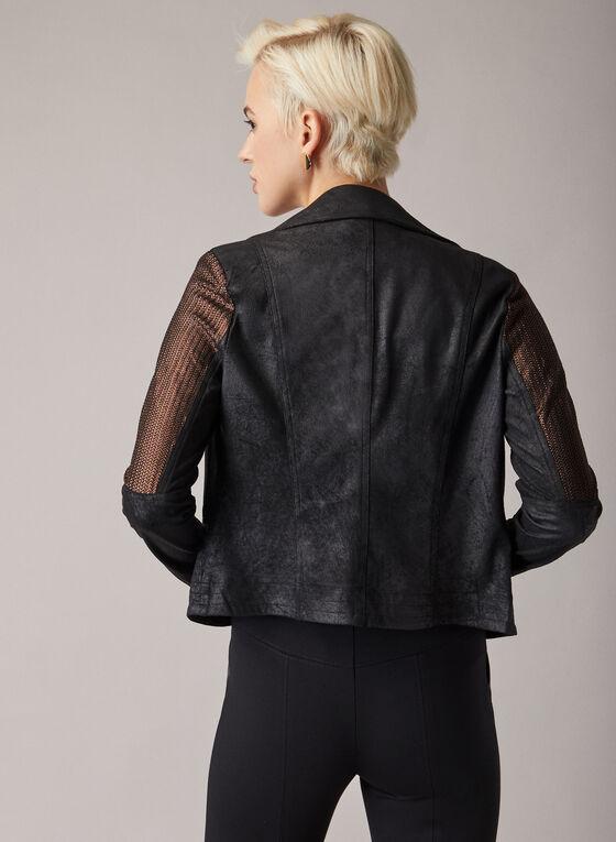 Joseph Ribkoff - Faux Leather Jacket, Black