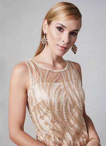 c0279d9ad4 SD Collection - Embroidered Sequin Mesh Dress