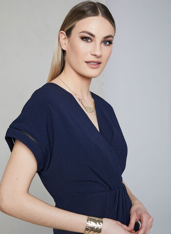 Maggy London - Crepe Dress, Blue, hi-res