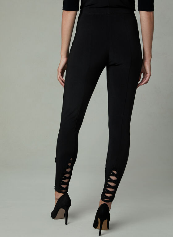 Joseph Ribkoff - Leggings With Rivet Details, Black, hi-res