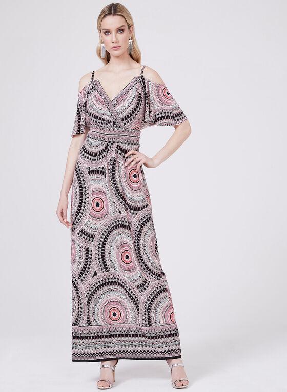 Maggy London - Aztec Print Maxi Dress, Multi, hi-res