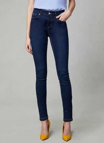 Super Soft Slim Leg Jeans, Blue, hi-res,
