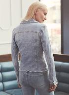 Joseph Ribkoff - Embellished Denim Jacket, Blue