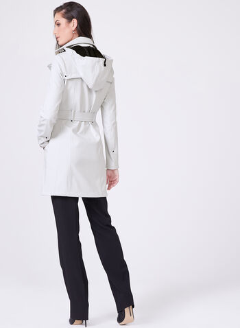 Novelti - Softshell Trench Coat, Silver, hi-res