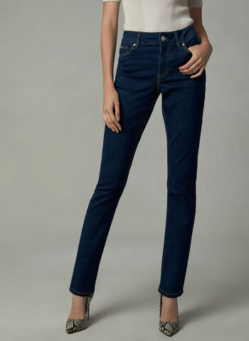 Carreli Jeans - Straight Leg Jeans, Blue, hi-res