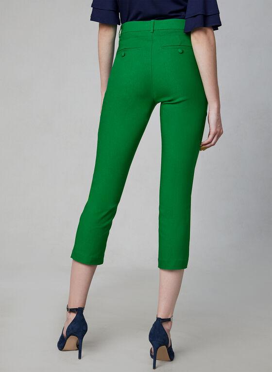 Jules & Leopold - Capri Pants, Green, hi-res
